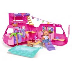Panenka Evička s obytným vozem