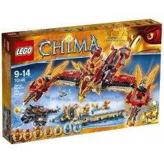 Lego 70146 CHIMA Létající ohnivý chrám Fénix