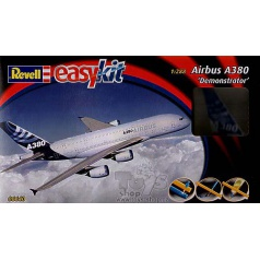 """Revell 06640 EasyKit letadlo - Airbus A380 """"Demonstrator"""" (1:288)"""