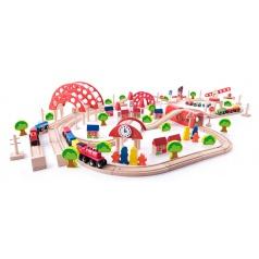 Woody 92100 Vláčkodráha s hlavním nádražím