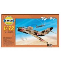 Směr Model MiG-17PF 1:72 13,3x16,2cm v krabici 25x14x4cm