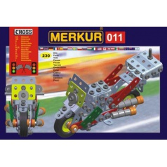 Merkur M 011 kovová stavebnice Motocykl