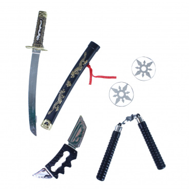 Rappa Ninja set - zbraně