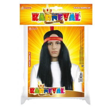 Karnevalová paruka indián