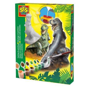 ses Sádrový komplet pro odlévání - T-rex