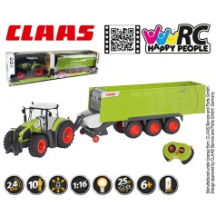Happy People RC Claas Axion + Claas Cargos