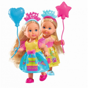 Simba Panenka Evička Happy Birthday, 2 druhy