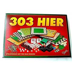 Hydrodata RAPPA hračky 303 hier verzia SK spoločenská hra v krabici 42x29,5x6cm