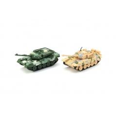 Tank plast 16cm asst 2 barvy