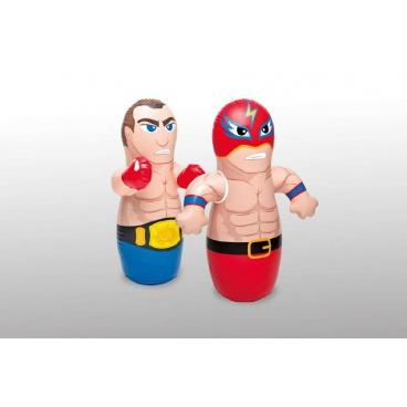 Teddies Figurka boxovací 3 druhy vel. 94-98x44-61 cm nafukovací