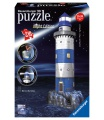 Ravensburger Maják v příboji 3D puzzle 216d Svítící