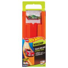 Mattel Hot Wheels TRACK BUILDER DLOUHÁ DRÁHA S ANGLIČÁKEM