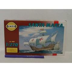 Směr modely plastové SANTA Maria          loď 1:270