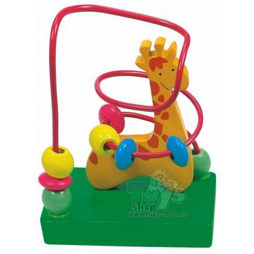 Woody Motorický labyrint malý - žirafa