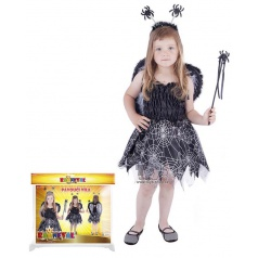 dětský karnevalový kostým pavoučí víla velikost S