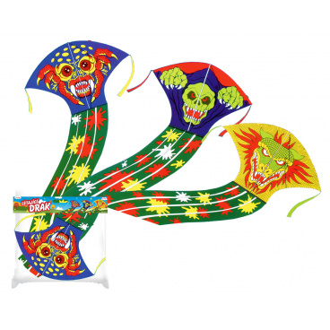 rappa hračky Drak 43x70cm kulatý