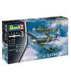 Revell Plastic Modelkit letadla 03710 - Bf109G-10 & Spitfire Mk.V (1:72)