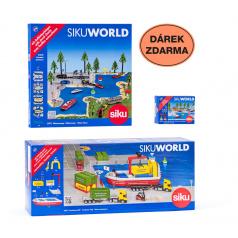 SIKU World - Loď přepravující kontejnery + dárek