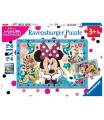 Ravensburger dětské puzzle Disney Minnie 2x12 dílků