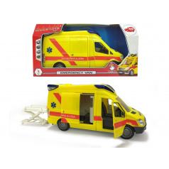 Dickie Ambulance Van 34cm, česká verze