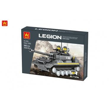 Mac Toys Stavebnice vojenský tank, 360 dílů
