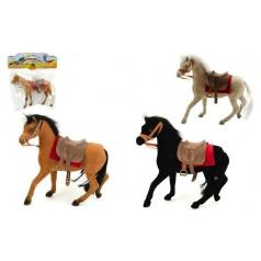 Kůň fliška 20cm asst 3 barvy, v sáčku