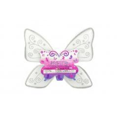Teddies Křídla motýlí nylon 49x43cm v sáčku karneval