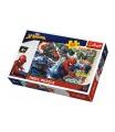 Trefl Puzzle Statečný Spiderman Disney 33x22cm 60 dílků v krabici 21x14x4cm
