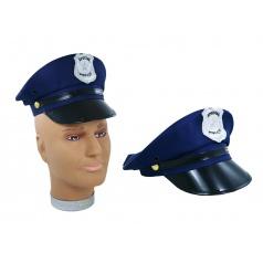 Karnevalová čepice policejní pro dospělé