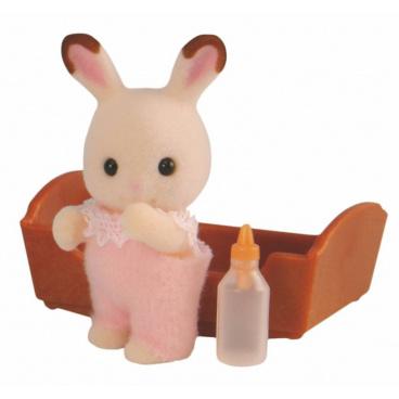 """Sylvanian Families Baby """"chocolate"""" králik"""