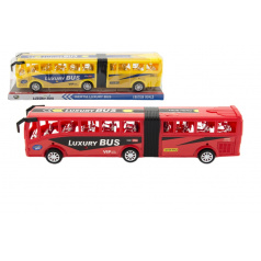 teddies Autobus plast 47cm na setrvačník asst 2 barvy v blistru