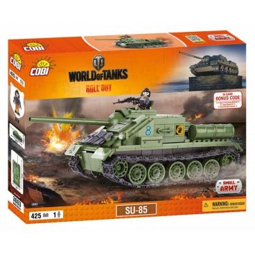 COBI World Of Tanks stavebnice tanku SU 85, 425 kostek, 1 f