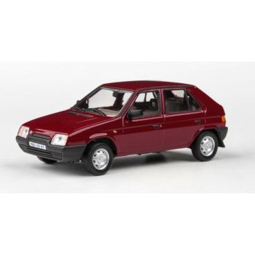 ABREX Škoda Favorit 136L (1988) 1:43 - Červená Apollo