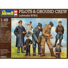 Revell 02621 Pilots and ground crew, German