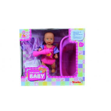 Simba Panenka MNB pije a čůrá, Baby Set, 12 cm