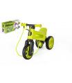 Teddies Odrážedlo FUNNY WHEELS Rider SuperSport zelené 2v1+popruh, výš. sedla 28/30cm nos 25kg 18m+ vkrab.