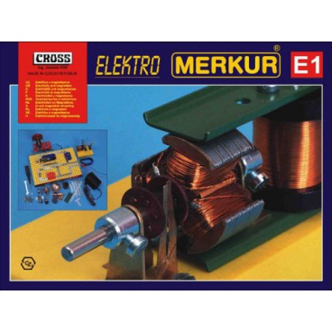Merkur E1 elektřina, magnetismus stavebnice
