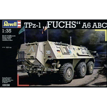"""Revell 03038 model obrněný transportér  TPz 1 """"FUCHS"""" ABC"""