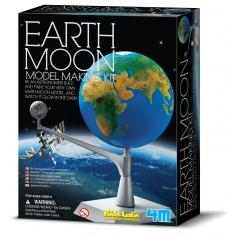 4M Země a měsíc model