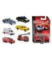 Majorette Auto hasiči/ambulance, kovové