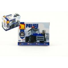 Dromader 23101  Policie Auto 33ks v krabici 9,5x7x4,5cm