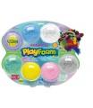 PEXI PlayFoam Modelína/Plastelína kuličková s doplňky 7 barev na kartě 34x28x4cm