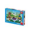 Dino Puzzle Krtek Krtečkova plavba 47x33cm 100 dílků XL v krabici 27x19x4cm