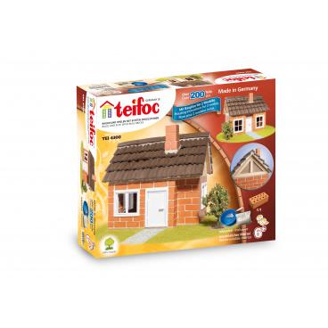 Teifoc Stavebnice Teifoc Domek Carlos 200ks v krabici 35x29x8cm