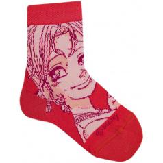 """Ponožky tenké """"Witch"""" růžové, vel. 27/30"""