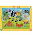 Dino dětské puzzle Krtek v jahodách  40D