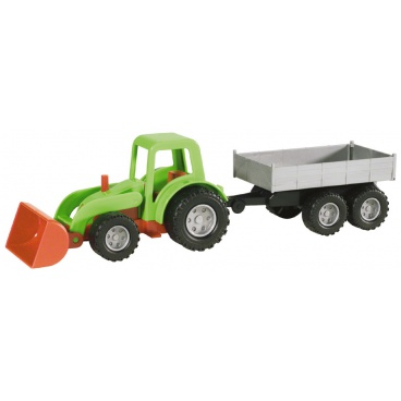 Lena Mini Compact traktor s přívěsem