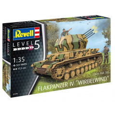 Revell Plastic ModelKit military 03296 - Flakpanzer IV Wirbelwind (1:35)