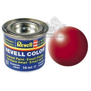 Revell emailová barva 32330 hedvábná ohnivě rudá