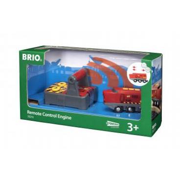 BRIO 33213 Lokomotiva na dálkové ovládání elektrická mašinka k vláčkodráhám
